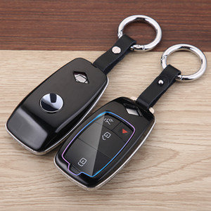 Car key cover For Mercedes Benz w204 w211 w203 A B C E S CLS CLK CLA SLK Class W205 W210 W211 AMG key Case Holder Shell keychain accessories
