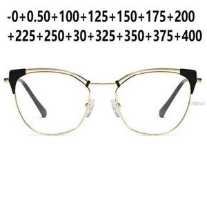 اللونية القارئ القراءة نظارات شمسية النساء القط نظارات مد البصر الشيخوخي التدريجي المتعدد التركيز FML