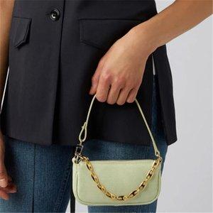 Bag Roots Mini Bags Baguette Double Female Lizard Handbag Kelly Leather Wholesaler Chain Shoulder Underarm Bag Lady Rachel Crossbody Sm Lddm