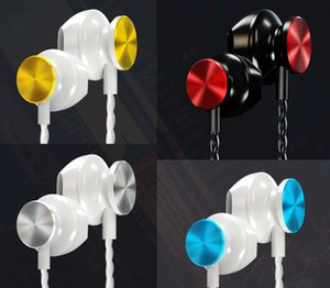 The new high-quality smart color in-ear wire-controlled dual-voicing headset with microphone, suitable for iPhone, Huawei, Samsung, Xiaomi