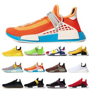 دائرة الرقابة الوطنية الجنس البشري العين اضافية فاريل ويليامز أحذية الرجال جريئة الشوكولاته البرتقالي صفراء زاهية تراث بيربل نساء الرياضية حذاء رياضة مدرب في الهواء الطلق