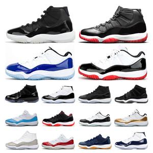 air retro jordan 11  obsidiyen  MAHKEME Mor  Alternatif Üzüm 11'ler Beyaz Concord spor sneaker eğitmen Bred