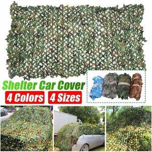 Rinforzate camouflage reti da caccia camo netting pergola gazebo ombra giardino nascondiglio esterno esercito percepimento mesh1