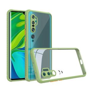 Transparent Clear Acrylic Case for Xiaomi 10 Redmi Note 8 Pro 9 9C 9A 9s 8A CC9 Back Cover Anti- Scratch