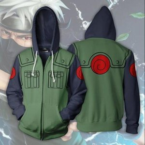 Anime Naruto Kakashi Cosplay Costumes Jacket Sweater Casual Coat Clothes Hoodie Autumn Fashion Women Halloween Costumes Adult