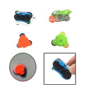 Hot Sell New Style Mini Inertia Car Gyro Plastic Educational Toys Motorbike Car Model Creative Toys Fingers Gyro Children Gift