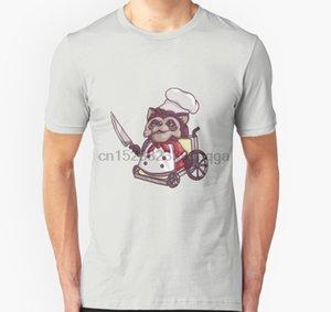 Les hommes T-shirt Short Overcooked Fauteuil roulant Raton laveur t-shirt unisexe chef femmes T-shirt du sport Sweat à capuche à capuche