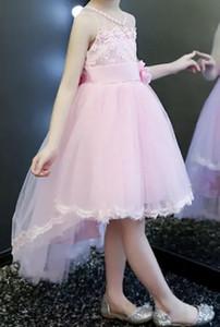 Princess skirt girl shapeless gown little host girl piano performance dress flower girl tuxedo summer white tuxedo hair band