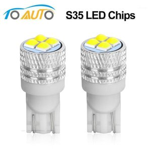 2Pcs T10 LED W5W WY5W 501 168 High Quality Super Bright LED Car Reading Dome Lights Auto Marker Lamps Wedge Tail Side Bulbs 12V1