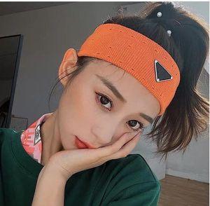 Designer sport yoga gestrickte winter stirnbänder haar bands für frauen und männer klassische stil ohr wärmer headwrapps hip hop haarschmuck