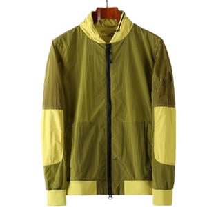 Topstoney 2020 الربيع والخريف جديد عارضة الرجال النايلون سترة الأزياء معطف سترة واقية سترة رياضية معطف سترة واقية 1111
