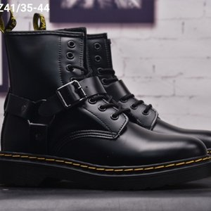 mens womens dr classic martin designers women ankle Black white Cherry combat fashion martins Smooth Leather lace winter boots shoes 8qq8e7
