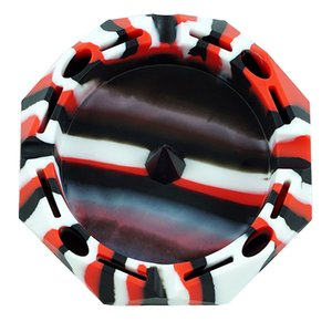 "5""diamond silicone ashtray Eco-Friendly Colorfull Silicone Rubber unbreakable High Temperature Heat Resistant wholesale Ashtray free shippi"