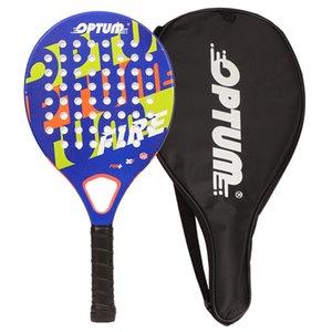 Optum fogo fibra de carbono júnior praia tênis raquete luz raquete para jovens 20116