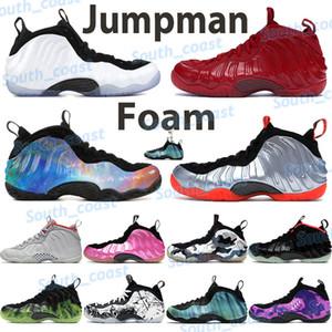 chaussures hommes mousse de basket-ball classe de 1997 Penny Hardaway triple lumières du nord blanc noir rouge royal Abalone chaussures de sport de sport de platine pur