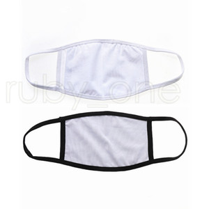 Blanks Sublimation Face Mask Adults Kids Double Layers Dust Prevention Mask For DIY Heat Transfer Print RRA3748