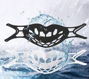 3D قناع قوس للحماية من الشفاه سيليكون قناع الوجه حامل تعزيز التنفس بسلاسة قناع قناع ليلا 117
