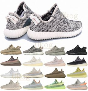2020 ABEZ Cinder reflective earth Oreo running shoes kanye west v2 Runner desert sage Zyon Yecheil Black Static men women sports