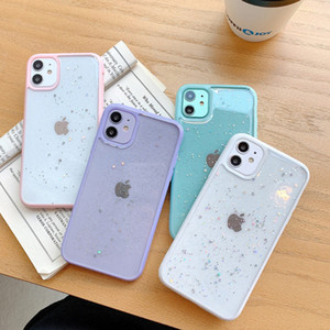 Silicone cellhone case For Apple iphone12 Pro max Mini 11 Cell Phone Accessories Soft Cases Phone Protector 5 colors