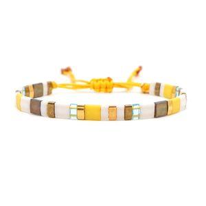 Go2boho Estate Bracciale MIYUKI Beads Tila Bracciali donne della Boemia Jewelry Pulseras Mujer 2020 Moda Amicizia regalo Jewellry Y200918