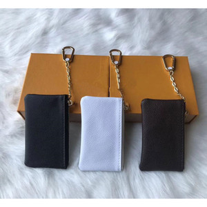 louis vuitton LV Chiave Custodia in pelle di colore 5 detiene borse della moneta di moda le donne classici chiave piccola borsa in pelle portamonete chiave Portafogli A2