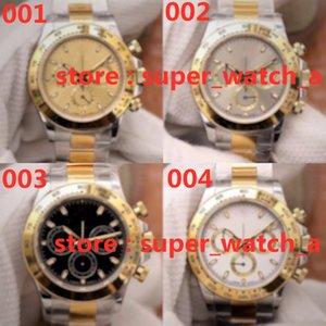 2020 Neue hochwertige Timing Custom Uhr montre de luxe 904l Stahl uhr cal.4130 Automatische mechanische Bewegung Herrenuhren Wasserdicht