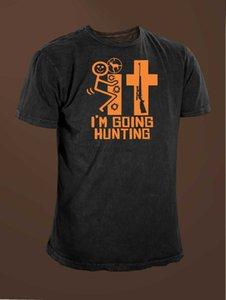 F # K Je vais designers hoodie drôle de chasse de chasse cerf t-shirt sweat