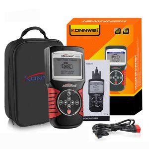 KONNWEI KW820 Auto Auto EOBD OBD2 OBDII Scanner-Diagnosewerkzeug Motorstörungscode-Leser Automobildiagnosescanner-Werkzeug Multi-Sprachen