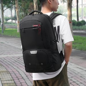 Black Large Capacity Mens Travel Backpack Outdoor Male Sport Waterproof Mountain Bag Leisure Youth School Bag Luggage Backpack
