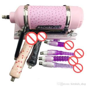 große Maschine Maschine Love Sex Frauen Masturbation Set Sex mit vielen Dildo mit Dildo für Attachment Automatische Spielzeug lieben Wtwdf