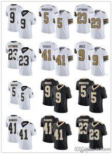 HombresNuevoOrleansjuventudsantos9 Drew Brees 41 Alvin Kamara 23 Marshon Lattimore 5 Teddy Bridgewater Football Jerseys