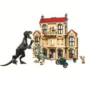 New Jurassic Park World Dinosaur Tyrannosaurus T. Rex Building Block Bricks Toy for Children Christmas Gifts