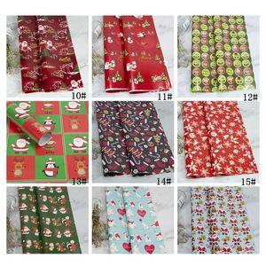 Christmas Wrapping Paper Christmas Decoration Gift Box Diy Package Paper Cartoon Santa Claus Snowman Deer Present jllTND lajiaoyard