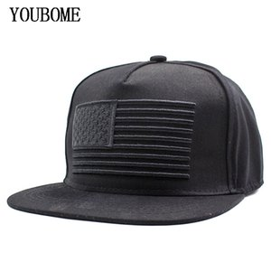 YOUBOME Brand Women Baseball Cap Men Hats For Men USA Flag Snapback Caps Casual Hip hop Casquette Bone Fashion America Hat Caps 201019
