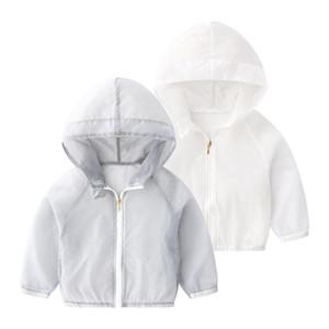 Ircomll Toddler Spring Summer Jacket Baby Girl Boy Sun-protective Clothes Children Outwear Cardigan Girl Leisure Thin Sweatshirt