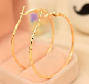 Earrings Hoop for Women Steel Hoop Earrings for Basketball Wives Jewelry Christmas Big Gold Hoop Earrings