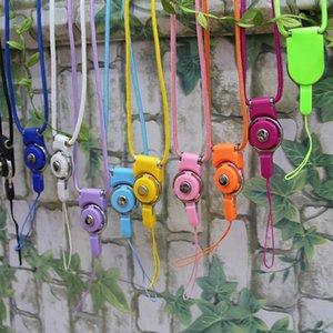 Delle cellule del supporto telefono mobile della cinghia fotocamera cordicella del collo multifunzione staccabile Id Card Key Ring Diy cordicella della cinghia del telefono mobile wmtunh