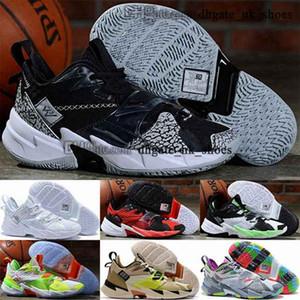 Баскетбольные туфли Кроссовки Мужчины Женские Размер нам 12 Женщины Почему бы не Zer0.3 Westbrook Jumpman 3 Zero Tripler Black Eur 46 Trainers Zapatos
