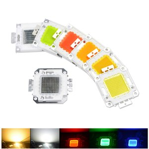 10W 20W 50W 100W LED Lamp beads COB Integrated led chip White warm white  RGB DIY chip Bulb For Floodlight flashlight Spotlight