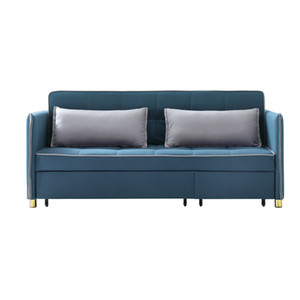 Factory Customized Reclining Chair Bed Small Sleeper Furniture Living Room Modern Fabric Folding Double Deck Folding Sofa Bed and Sofa