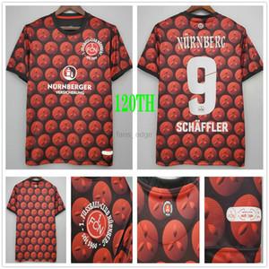 2020 2021 Nurnberg Soccer Jerseys Schaffler Hack Lohkemper Dovedan Custom 1.FC Nürnberg Christmas Version 120th Anniversary Football Shirts