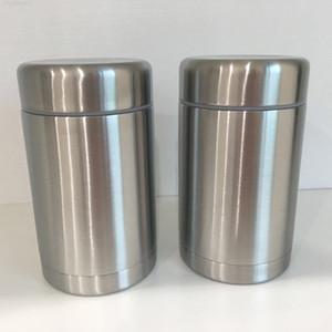 Tarro de acero Nuevo acero inoxidable Alimentos aislados de vacío Doble Wall 17Oz Thermo Contenedor Termal Cocina térmica