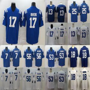 انديانابوليسكولتس17 فيليب ريفرز 56 كوينتون نيلسون 13 T.Y. هيلتون 53 داريوس ليوناردكرة القدممحدودةجيرسي