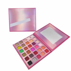 brand designer 30color eyeshadow Pink palette Christmas gift dating make up eye shadow high quality DHL free ship