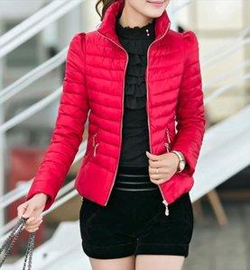 Große Förderung Winterjacke Frauen nehmen Büro-Damen Zipper Plus Size Mäntel Jaquetas Winter unten amp; parkas Drop Shipping
