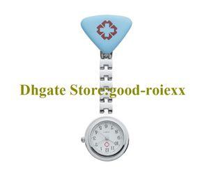Großhandel Krankenschwester Uhr Frauen Taschenuhr Halskette Zubehör Pullover Kette Damen Hängende Uhren Quarz Armbanduhren AA00135