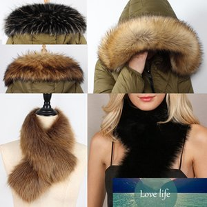 Fashion Faux Fur Collar Winter Warm Thick Imitated Fur Shawl Women Fashion Soft Neck Scarf Neck Protection Christmas Gift