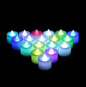 Christmas Lights Battery Operated Flicker Flameless LED Tealight Tea Candles Light Wedding Party Christmas Decoration LX3857