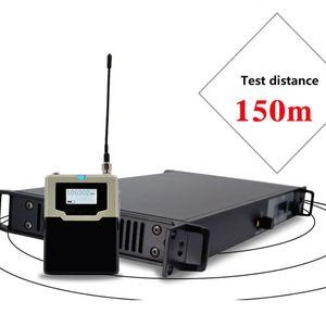 Profesional Oído-Back Stage Cantante ensayo en la oreja Monitoreo Inalámbrico Sistema de color BS-9400