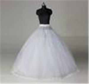 Grande sconto !! vendita calda abito di sfera bianco di nuovo stile di nozze Peticoat Wedding le decorazioni nuziale sottoveste di trasporto